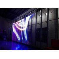Quality Ultra-thin( 10mm) see-through Transparent LED display full color Video glass screen for sale