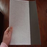 Quality PVC waterproof membrane with PET fabric for sale