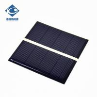 Quality 0.62W High Efficiency EPOXY Solar Panel For MP3 ZW-7070 Light cheapest solar panel photovoltaic For outdoor travel for sale