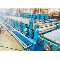 China Quick Change  Double Layer Zinc-Aluminum Roof Sheet Roll Forming Machine on sale
