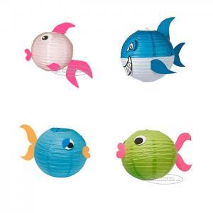 Quality Fish Lantern Animal Paper Lantern For Children Toys Hanging for sale