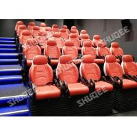 Quality Electric 5D Movie Theater System 5D Motion Chair With Vibration Push back Leg tickler for sale