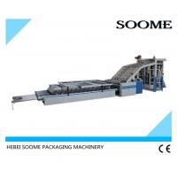 Quality High Speed Flute Laminating Machine Semi Auto Industrial 1400 Lift Type Power 6KW for sale