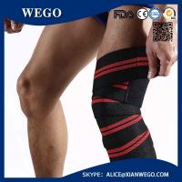 Quality Knee Wraps (Pair) for Cross Training Wods, Gym Workout, Weightlifting, Fitness & Powerlifting - Knee Straps for Squats for sale
