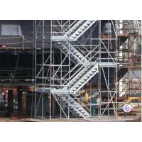 Hot Dip Galvanized Kwikstage / K - Stage Cuplock Stair Tower With Safety Ladder for sale