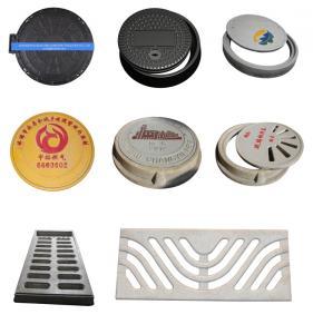 China SMC/FRP Composite Manhole Covers A15 OEM/ODM on sale