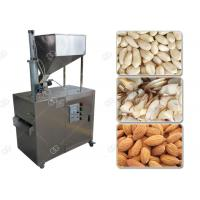 Quality Stainless Steel Nut Slicer Machine Almond Peanut Automatic Processing 380V for sale
