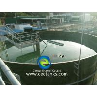 Quality Bolted Steel Liquid Storage Tanks With Aluminium Dome Roof Durable for sale