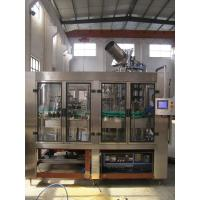 Quality Hot Water Liquid Glass Bottle Filling Machine 10000-12000bph Electric Driven Type for sale