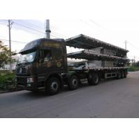 China 30-50 Tons Container Trailer Truck 2 / 3 Axles With 3.5 Inch King Pin on sale
