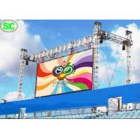 Quality Wireless Programmable Full Color Led Screen For Advertising Outdoor , Great Waterproof for sale