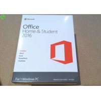 Quality Microsoft office 2016 product key card home and student on line activation key for sale