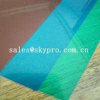 China Eco-Friendly Different Color Die Cut PVC Rigid Plastic Sheet For Plastic Card on sale