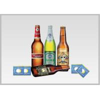 Quality Beer Label Vacuum Metallized Paper Laminate Sheets Chemical Type , Width 200mm-2000mm for sale