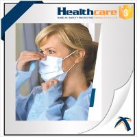 Quality Non Woven Disposable Mouth Mask With Elastic Ear Loop For Dental Single Use for sale
