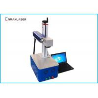 Quality Small Cnc Laser Engraving Machine , Fiber Laser Etching Machine Galvo Head for sale