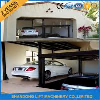 Quality Steel Auto Car Lift , Hydraulic Garage Car Lift Double Deck Car Parking System for sale