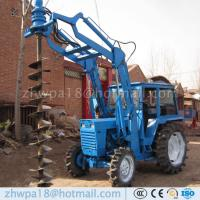 Quality Easy to operate Auger Drilling Machine Tractor DIRT DRILLS for sale