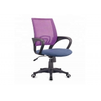 Quality High Back 22.6 Pounds Ergonomic Swivel Chair Blue Mesh Armrest Office Chair for sale