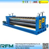 Quality Corrugated Roofing Color Steel Roll Forming Machine 4kw Motor Power for sale