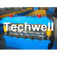 Buy Metal Trapezoidal Roof Panel Roll Forming Machine for Making Trapezoidal Roof Panel at wholesale prices