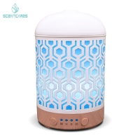 Quality ABS PP Metal 92*155mm 100ML Essential Oil Diffuser for sale