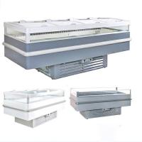Quality Anti Fog Air Cooling Commercial Display Chest Freezer For Fast Food Restaurant for sale