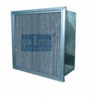 Quality Flange Separator High Flow Panel Filter Little Weight Easily Operated for sale
