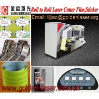 China Laser Printing Label Cutter With Auto Feeder on sale