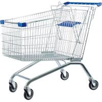 Buy cheap 60 - 240 Liters Supermaket Shopping Carts Trolley with Baby Seat from wholesalers