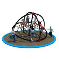China Preschool Rope Climbing Playground Equipment With Multiple Colors KP-PW032 on sale