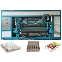 China Satble Automatic Paper Pulp Molded Egg Tray Machine 5000pcs/H on sale
