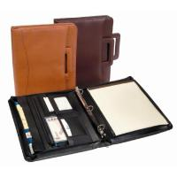 Quality Leather Business Supplies Hot Sales Variety Padfolio for sale