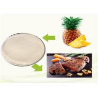 Quality Medical / Cosmetic Grade Bromelain Powder Alleviating Pain Stimulating Digestion for sale