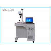 Buy cheap Metal Nonmetal Fiber Laser Engraver Marking Machine 20w With Computer Display from wholesalers