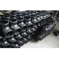 Buy 90 Degree Tee Pipe Fitting Corrosion Resistance For Boiler Industry at wholesale prices