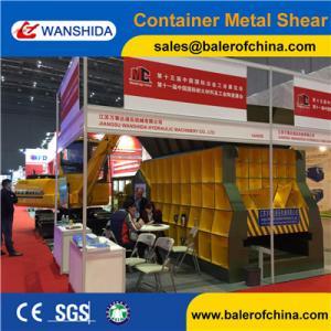 China China WANSHIDA Automatic Scrap Shear/Container Shear for propane tanks on sale