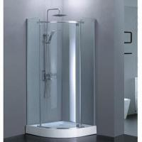 Buy cheap Quadrant pivot shower door, 1900 to 2000mm width from wholesalers