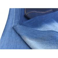 Quality 100% Cotton Woven Twill Stretch Denim Fabric  4.5 oz for Bag Dress Shirt Jean for sale