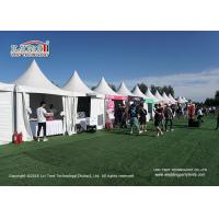 Buy cheap Customized Size Waterproof Outdoor Event Tents / White Pagoda Tent from wholesalers