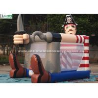 Fire Retardant Toddler Inflatable Bouncing Castle Of Pirate Jack Theme