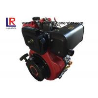 Quality Light Weight 8.5HP Diesel Engine with Compact Structure Design , Air Cooled Recoil or Electric for sale