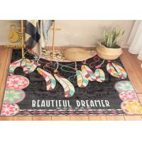 Quality Anti Slip Rug Underlay  Short Plush Chinese Oriental Rugs , Modern Kitchen Rugs Washable Dry Quickly for sale