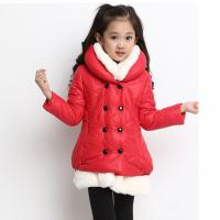 Quality Children Long Thickness Coat for Girl for sale