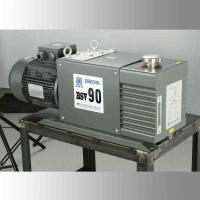Quality Double Stage Oil Sealed Rotary Vane Vacuum Pump Low Noise 90 CBM/H Speed for sale