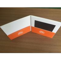 Quality 7inch screen Greeting Card Card Type and Card Product Type create lcd screen video greeting card rechargeable battery for sale
