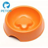 Quality Degradable Bamboo Pet Bowl Commercial Slow Eating Dog Bowl BSCI Approved for sale