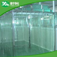 China Softwall / Hard Wall Clean Room Booth Easy Assembly With 100-100000 Level Cleanline on sale