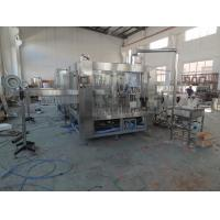 Quality 3 In 1 Juice Bottling Equipment Stainless Steel / Filling Capping Machine for sale