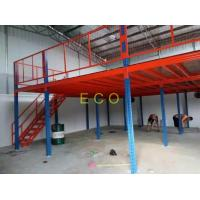 Quality Upright Support Frame Mezzanine Platform Rack , Industrial Pallet Racking Systems for sale